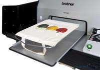 Brother GT-541 Digital Printing on Tote Bags